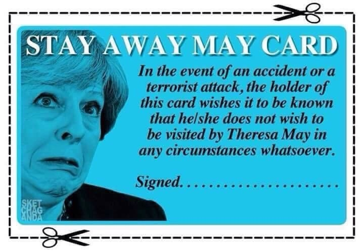 Does The Home Secretary, Sorry, Prime Minister, Have Blood On Her Hands?