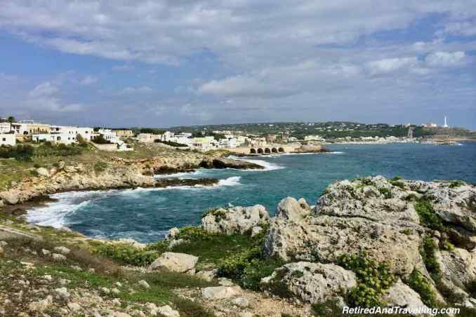 Along The Shore - Adriatic meets the Ionian Sea From Puglia Italy.jpg