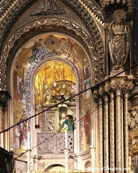 Montserrat Church Black Madonna - Views From Montserrat Spain.jpg