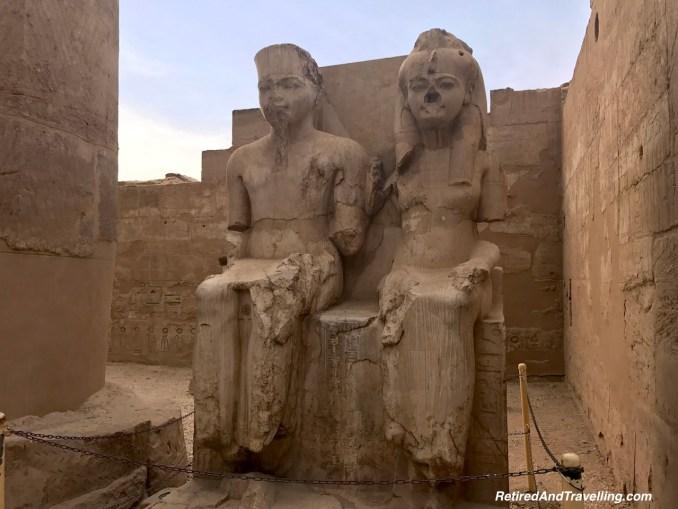 Pharaoh Statues - Pharaohs At Luxor Temple.jpg
