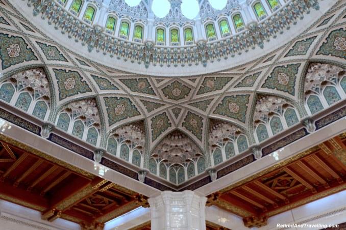 Main Prayer Room Artistic Detail - Grand Mosque in Muscat.jpg
