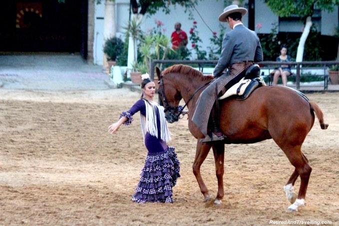 Horses and Flamenco Dancers - Andalusian Horse Show In Córdoba.jpg