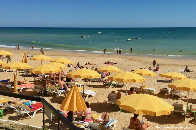 Praia da Oura Albufeira - View Of The Algarve Cliffs.jpg