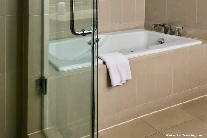 Westin Georgetown Soaking Bathtub- Things To Do In Washington DC.jpg