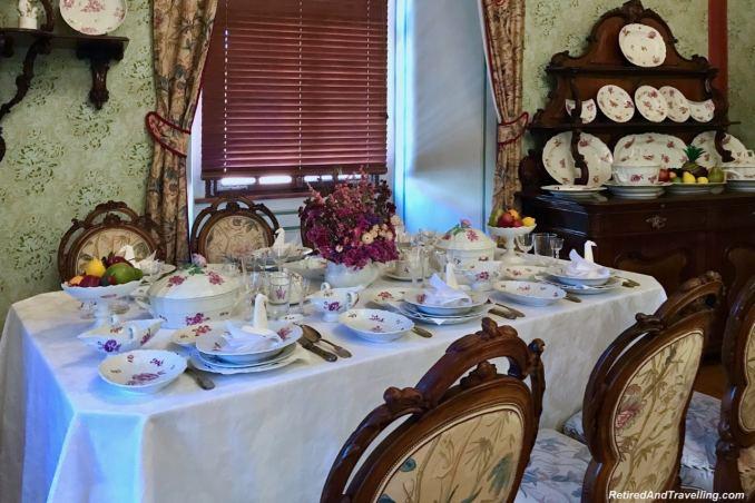 Dining Room Cesky Krumlov Castle - Medieval Town Of Cesky Krumlov.jpg