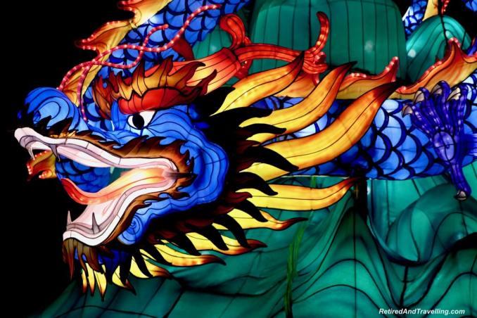 Four Dragons - Chinese Lanterns At The Toronto CNE.jpg