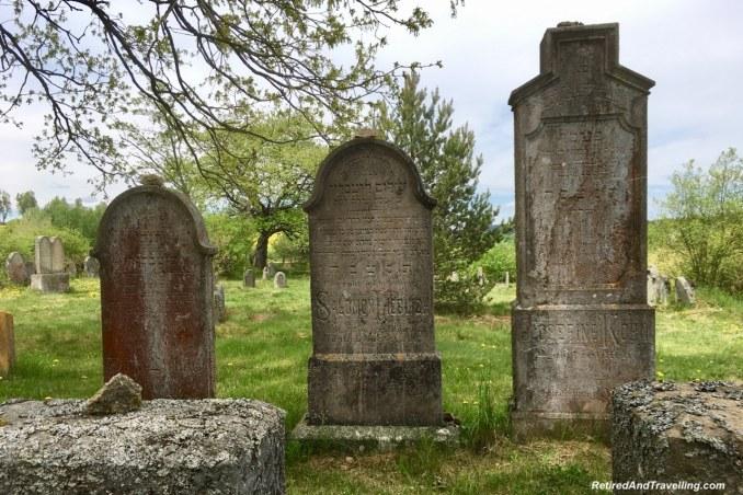 Zidovsky hrbitov Jewish cemetery - Stay In Slavonice Czech Republic.jpg
