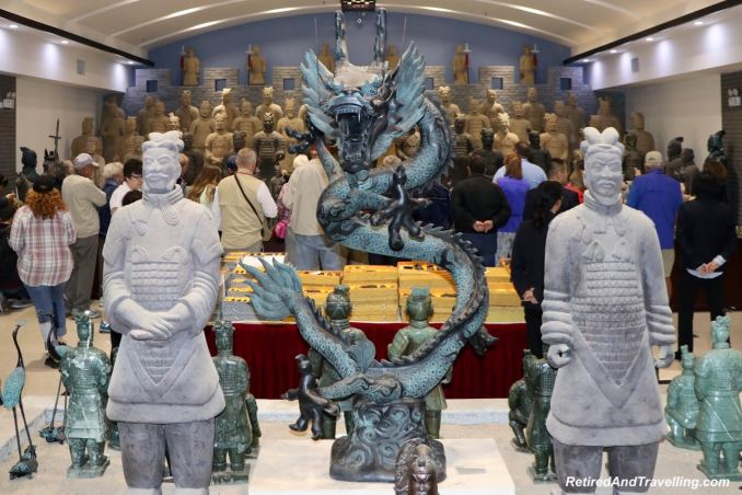Terra Cotta Warrior Workshop Souvenirs - Terra Cotta Warriors In Xian.jpg