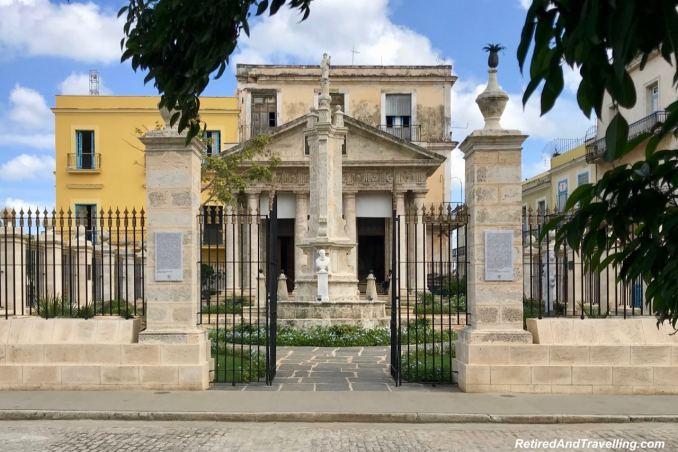 Plaza De Armas Soldier Memorial - First Visit To Colourful Havana.jpg