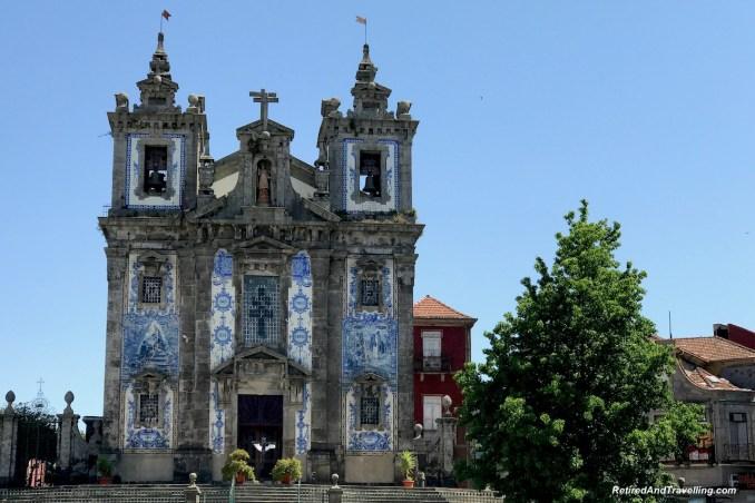 Church Igrejade S. Ildefonso Tile Artistry Porto Portugal - 4 Weeks In Portugal.jpg