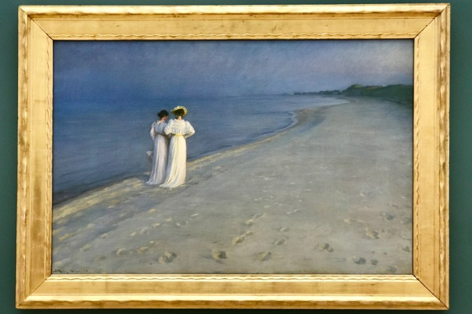 Skagen Museum Summer evening on Skagen Sønderstrand Peder Severin Krøyer.jpg