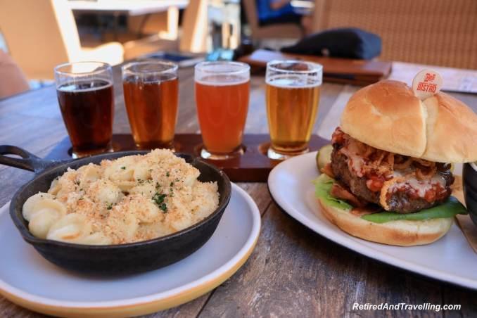 Claytons Golf Club Restaurant Wagu Burger - Pampering Stay At Ritz-Carlton Dove Mountain Arizona.jpg