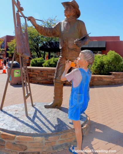 Painter Art in Town - Visit To Sedona In October.jpg