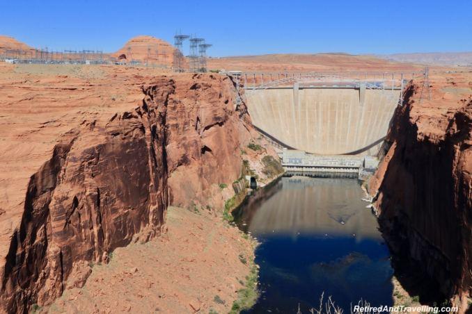 Glen Canyon Dam Page Colorado River - Road Trip Around Utah And Arizona.jpg