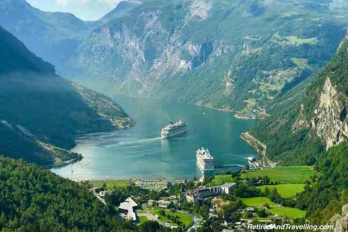 Geiranger View Flvdalsjuvet Viewpoint - Overland Hellesylt To Geiranger Fjord In Norway.jpg