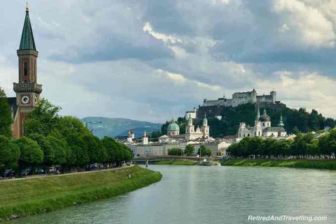 Austria Salzburg River Walk Hohensalzburg Castle View - Visit Central Europe For 6 Weeks.jpg