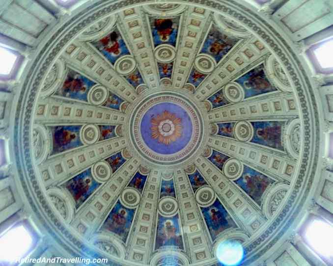 Frederiks Church Dome Inside Dome Ceiling - Things To Do In Copenhagen Denmark.jpg