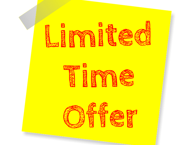 Post Note: Limited time offer