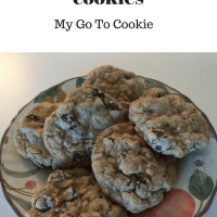 "My ""Go To"" Oatmeal Cookies"