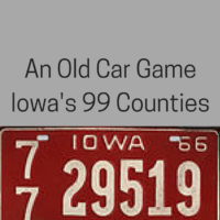 An Old Car Game -  Iowa's 99 Counties