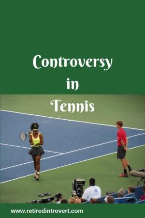 tennis controversy