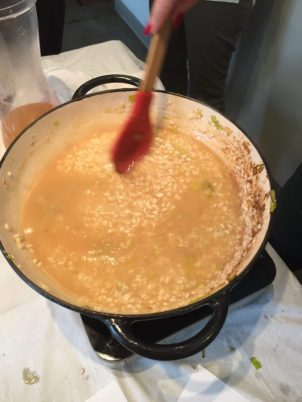 Risotto Stirring
