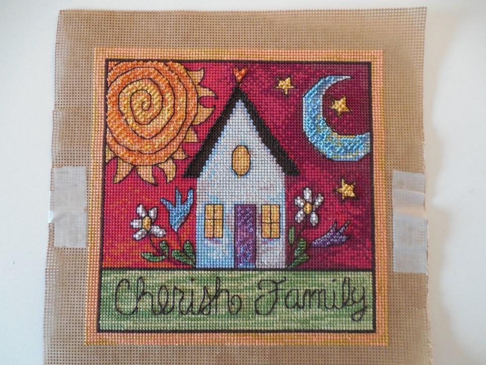 Cherish Family Cross Stitch