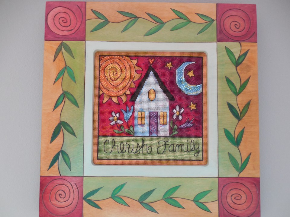 Cherish Family Cross Stitch