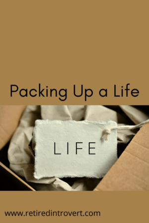 Packing Up a Life