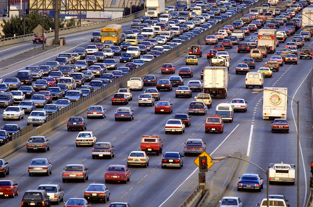 Retire Fabulously Snowbirds Crowded Freeway Heavy Traffic Retirement