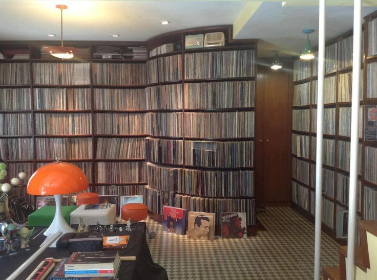 No, this is not my record collection. This music library belongs to Brazilian singer Ed Motta, who owns over 30,000 records.