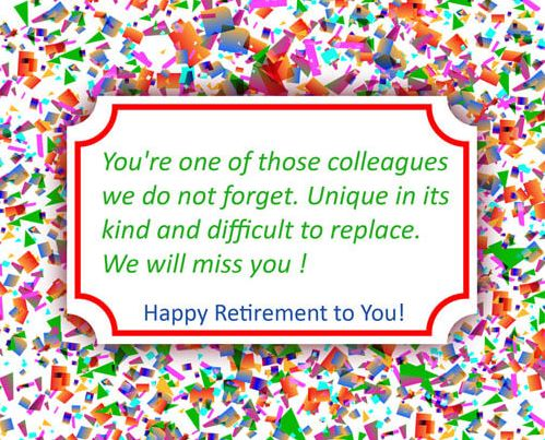Best Retirement Wishes for Your Beloved