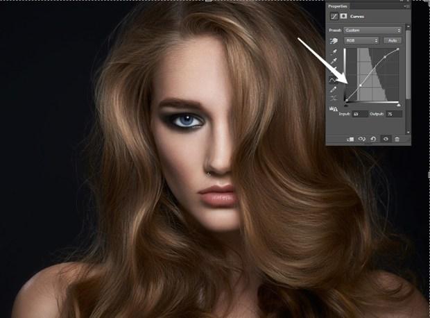 photoshop hair