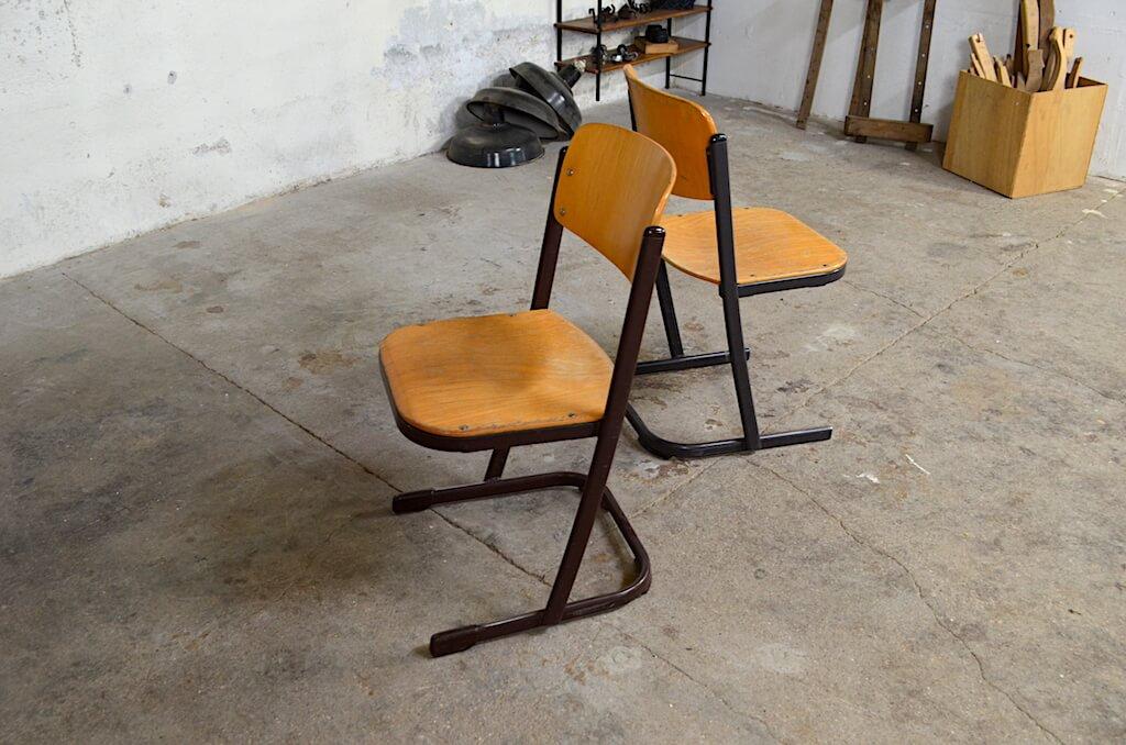 chaise d ecole lea zoe design vintage