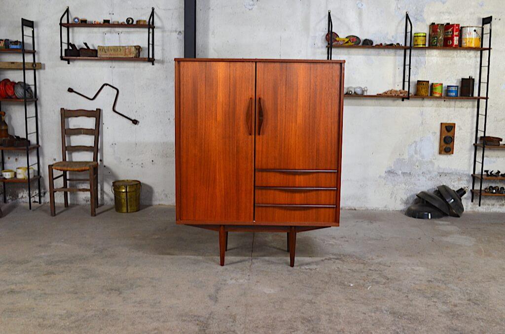 meuble haut scandinave lois vintage