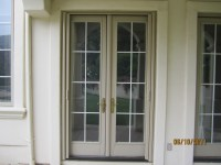 French Door Retractable Screen
