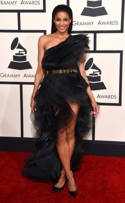grammys - ciara in alexandre vauthier