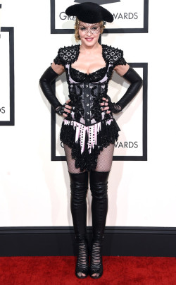 grammys - madonna in givenchy
