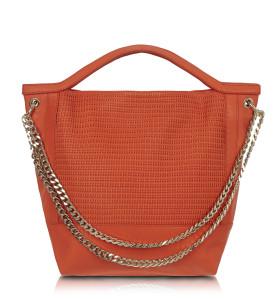 Sambag, Dani Orange Woven Leather, $350,www.sambag
