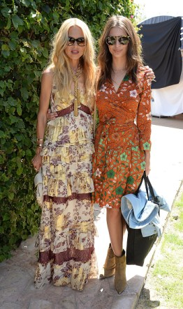 Moet Ice Imperial At The Zoe Report And DVF Brunch, Hosted By Rachel Zoe At Coachella