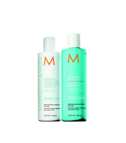 Moroccanoil, Hydrating Shampoo and Conditioner