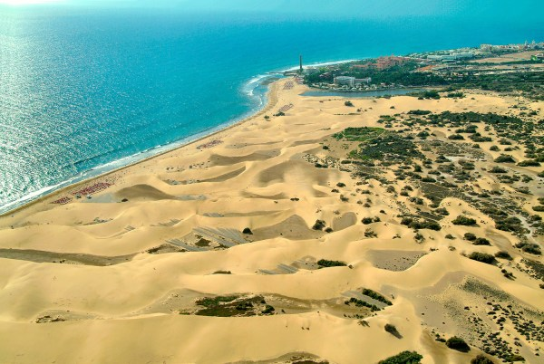 Canary Islands Maspalomas Beach