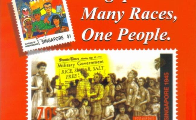 Singapore Many Races One People Retrievia