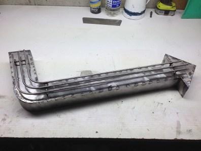 Fabrication flèche en métal vintage