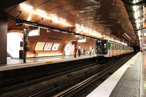 Station de Métro Arts et Metiers
