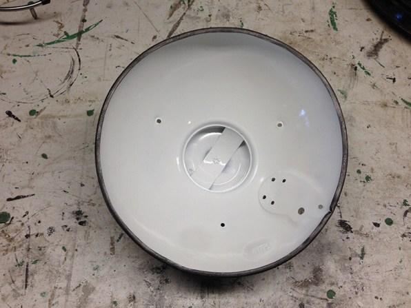 Restauration Lampe SolR