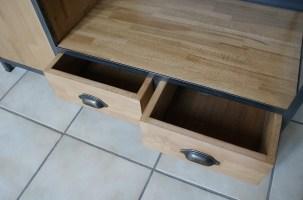 Fabrication table basse bois et métal