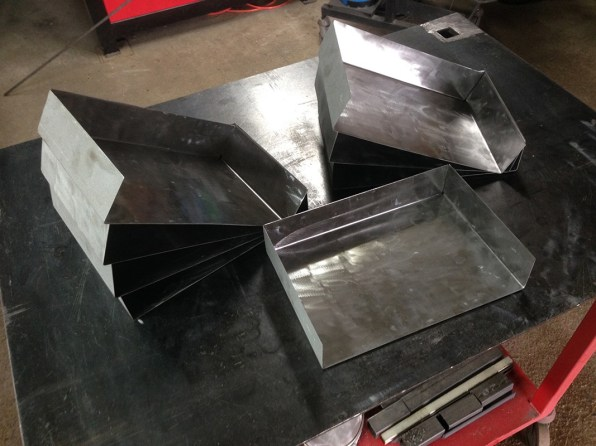 Fabrication tirroir metalique industriel