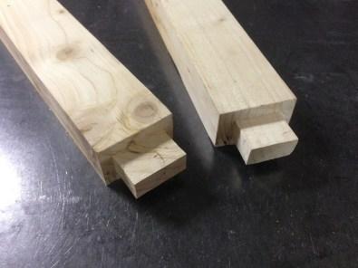 Fabrication table à manger en bois