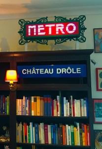 Enseigne de métro parisien Val d'Osne